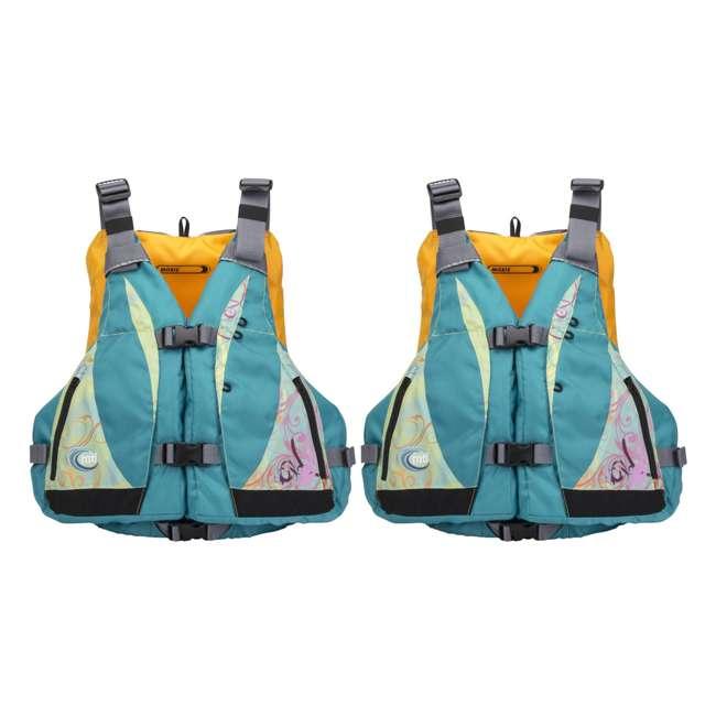 68309EP + 2 x MTI-807J-0BS45 Intex Excursion Pro Inflatable Kayak Set w/ 2 Life Jackets, M/L 2