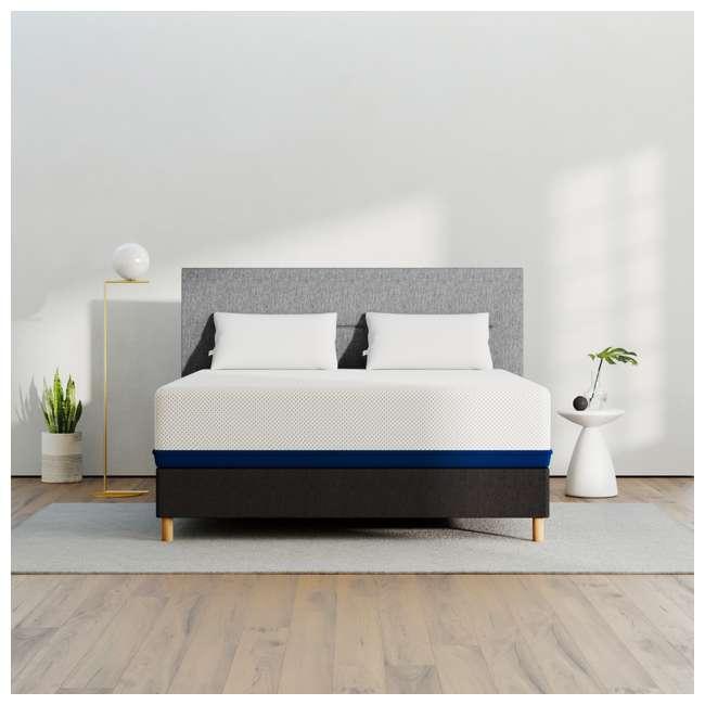 AS5-Q Amerisleep AS5 Soft Feel Bio Core Comfort Foam Queen Size Mattress, White
