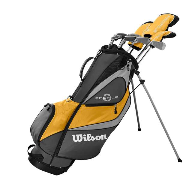 WGGC4370L + WGWP40800 Wilson Profile XD Men's RH Golf Club Complete Set and Balls 1
