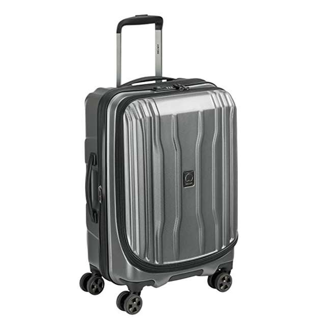"""40207980511 DELSEY Paris Cruise Lite 2.0 20"""" Hardside Expandable Carry On Travel Case, Gray 1"""