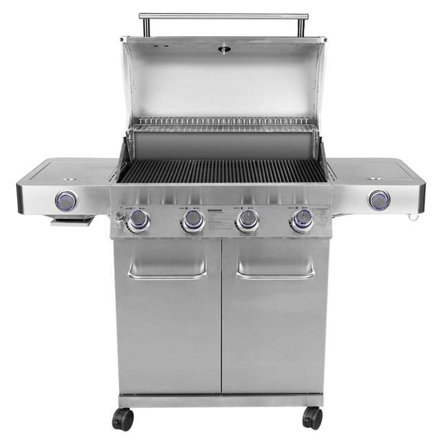 MG-24367-U-B Monument Grills Stainless Steel 4 Burner Propane Gas Grill (Used) 1