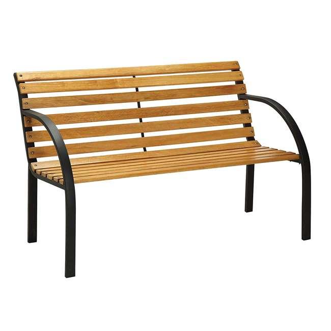 IDF-OB1805 Furniture of America IDF-OB1805 Dumas Weather Resistant Outdoor Patio Bench
