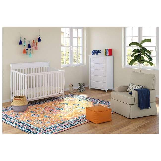 04530-661 Graco Stanton 4-in-1 Convertible Crib, White 2