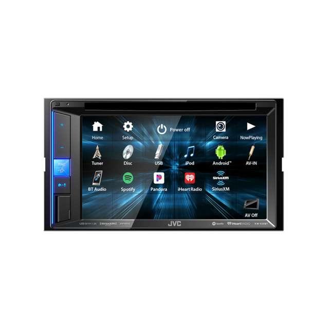 KW-V25BT JVC Mobile KW-V25BT 6.2 inch In-Dash Multimedia DVD Receiver  2