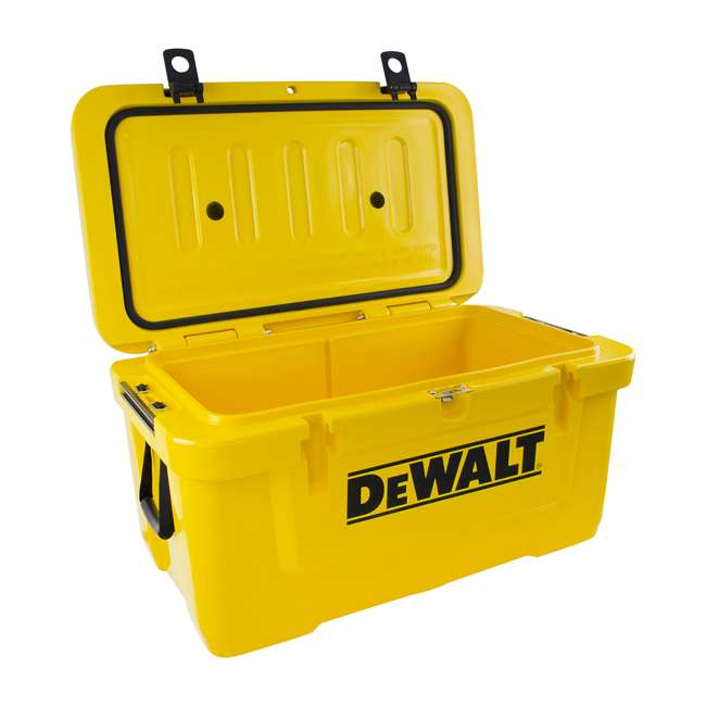 DXC65QT DeWalt 65-Quart Insulated Lunch Box Portable Drink Cooler, Yellow 4