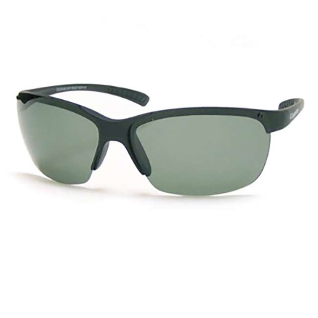 Glacier black/gray Coyote Eyewear P-30 Plastic Polarized Reader Premium Sunglasses, Black and Gray