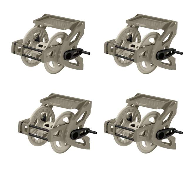 4 x CPLWTS175 Suncast 175-Foot Slide Trak Wall Mounted Hose Reel (4 Pack)