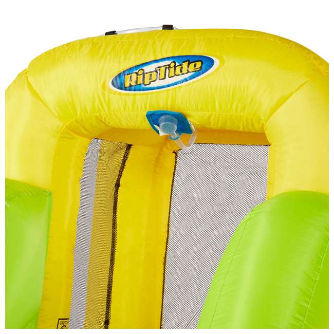 MTI-90717 RipTide Triple Fun Inflatable PVC Water Park with 3 Slides & Obstacle Course 6