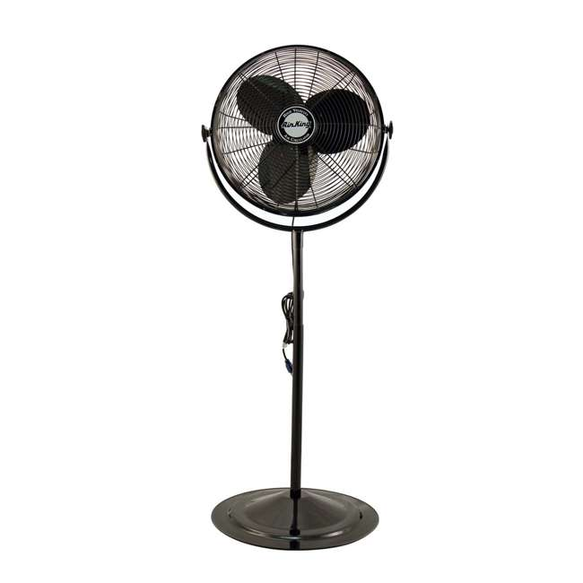 AK-9420-PA-U-A Air King 20 Inch 3 Speed 1/6 HP Adjustable Height Pedestal Fan (Open Box)