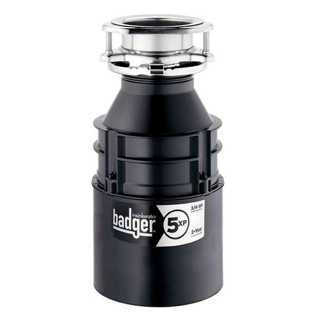 BADGER-5XP-OB InSinkErator Badger 5XP 3/4HP Garbage Disposal