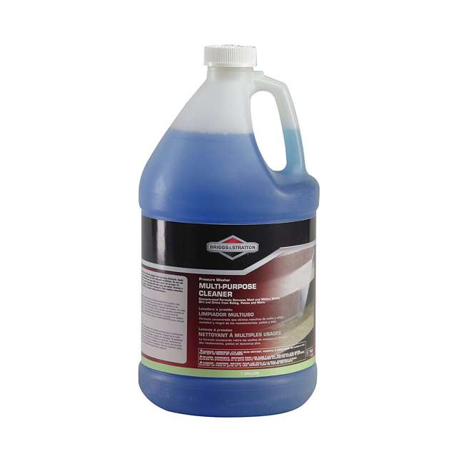 6827 Briggs & Stratton Pressure Washer Wood Surface Cleaner Fluid Concentrate, 1 Gal.