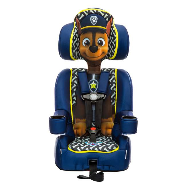 KE-3001CHS KidsEmbrace Nickelodeon Paw Patrol Chase Harness Booster Car Seat 1