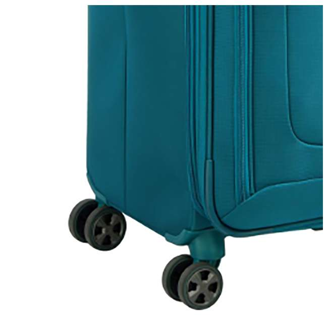 "40229183032 DELSEY Paris 29"" Expandable Spinner Upright Hyperglide Luggage Suitcase, Teal 4"