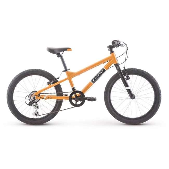 14-0510120 Raleigh Rowdy 20 Inch Childrens Kids Youth Bike Bicycle, for Ages 4 to 9, Orange