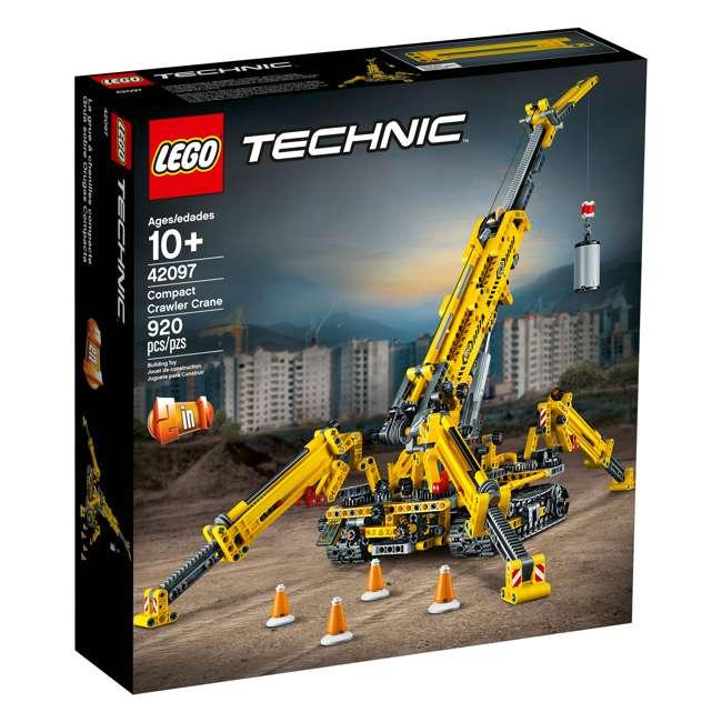6251555 LEGO Technic 42097 Compact Crawler Crane 920 Piece Construction Building Set 7