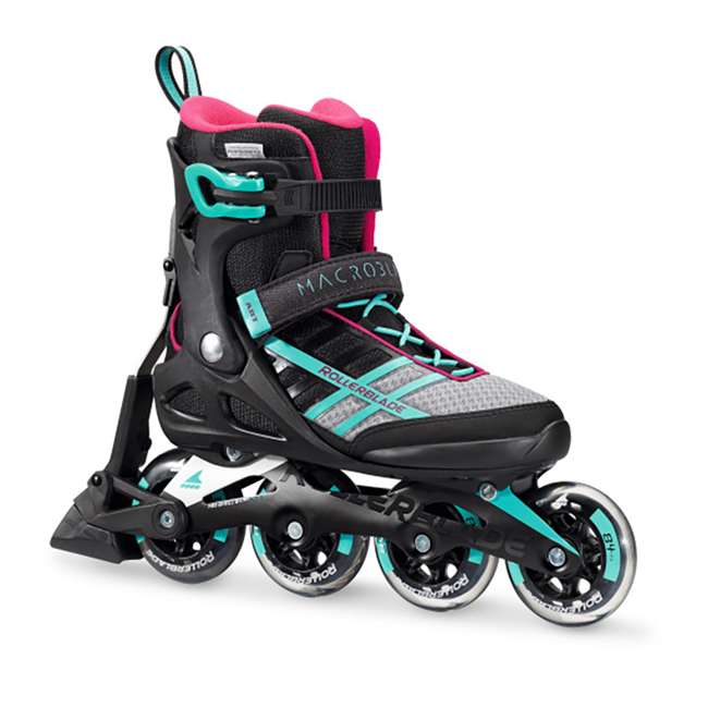 07734500986-6 Rollerblade Macroblade 84 ABT Womens Performance Inline Skates, Emerald Green