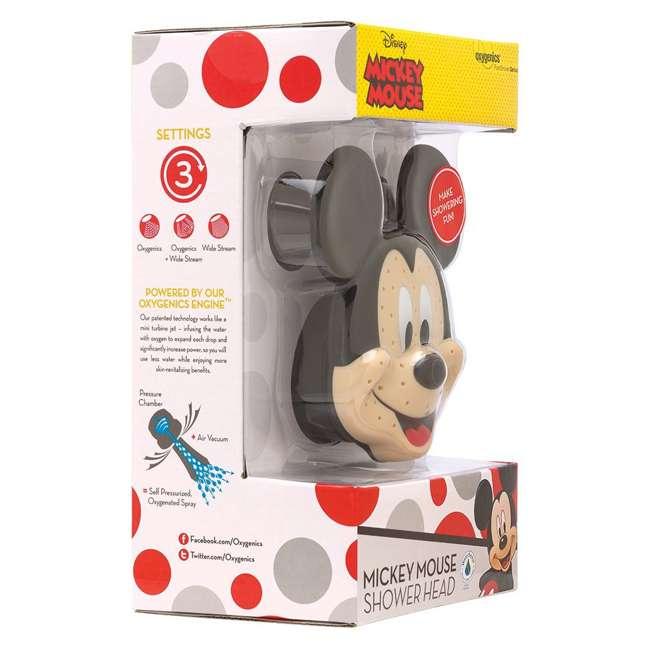 4 x 79268-MICKEYF Oxygenics Disney Mickey Mouse Fixed Shower Head (4 Pack) 6