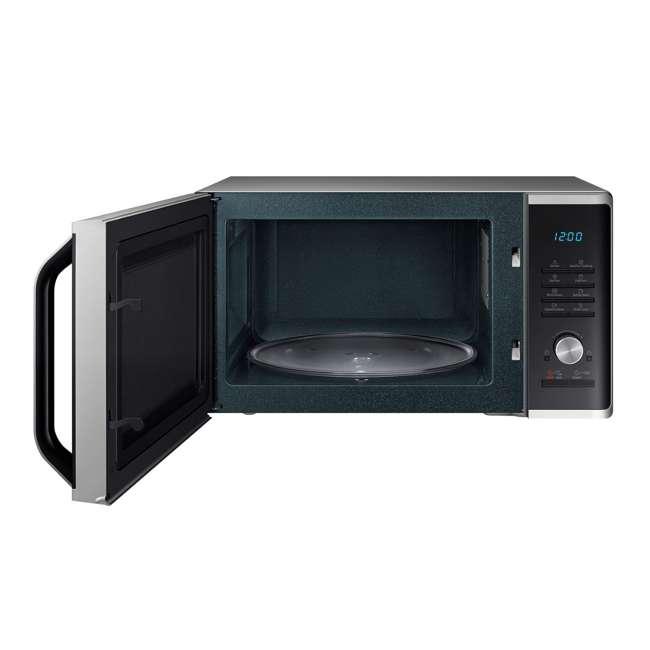MS11K3000AS-RB Samsung 1.1 Cubic Foot Countertop Microwave Oven, Black (Certified Refurbished) 1