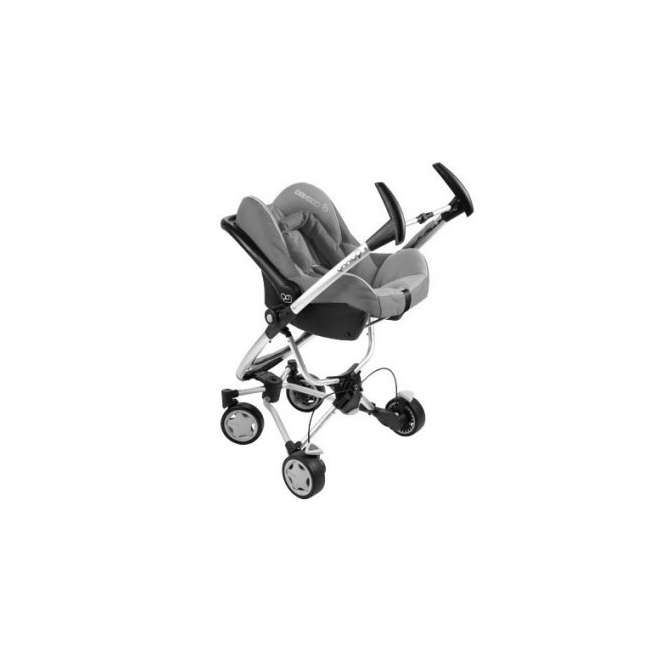 IC099APU Maxi-Cosi Mico Baby Infant Seat & Base -Total Black 3