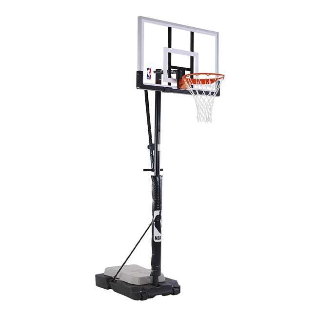 """E70983 Spalding 50"""" Acrylic Ultimate Hybrid Jr. Portable Basketball Hoop 1"""