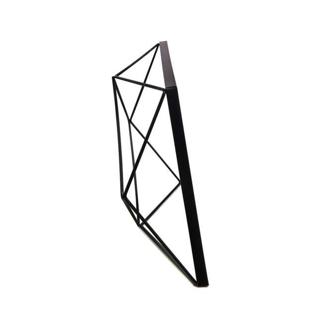 313019-040 Umbra Prisma Geometric 3 Photo Picture Frame, Black 3