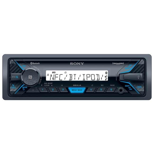 DXSM5511BT-U-A Sony Marine Digital Media Bluetooth Receiver and Two Speakers (Open Box) 3