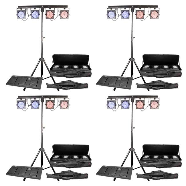 4 x 4BAR-USB Chauvet DJ 4BAR USB Wash Light System (4 Pack)