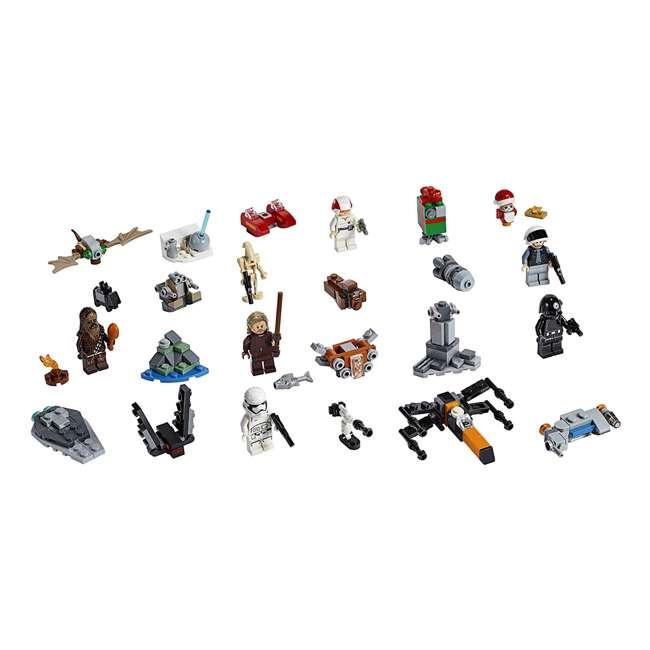 6251914 LEGO 75245 Star Wars 2019 Advent Calendar Block Building Kit w/ 6 Minifigures 1