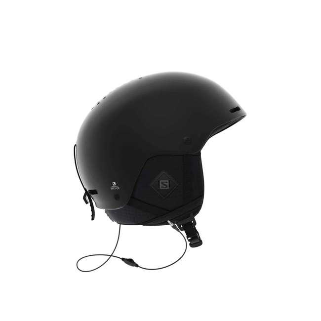 L40536000 - L Salomon BRIGADE+ Men's Ski Snowboard Audio Helmet, Large