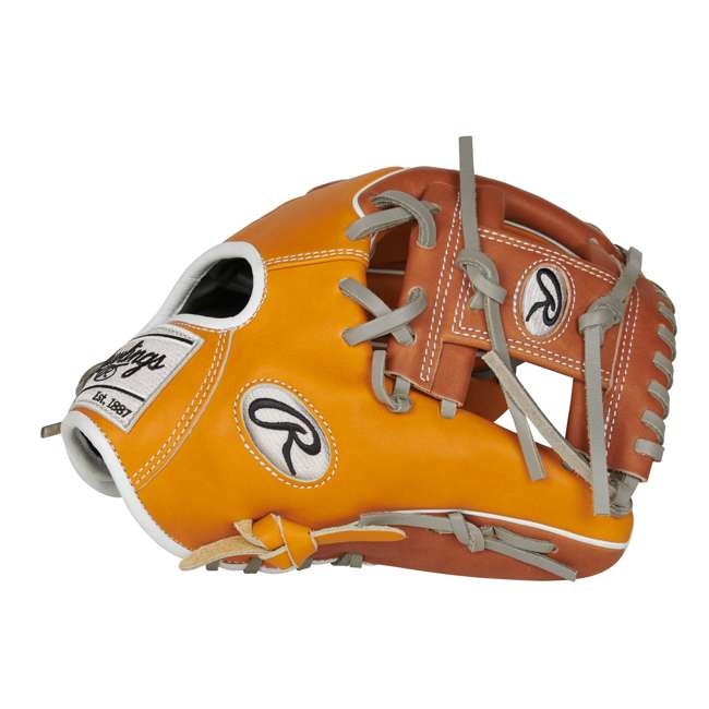 PROR204W-2T Rawlings Heart of the Hide R2G Series 11.5 Inch Right Baseball Glove 2