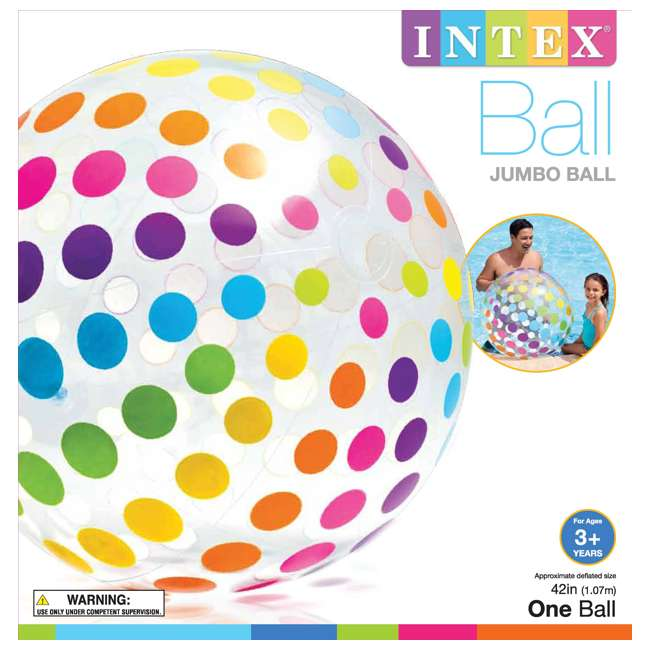 59065EP Intex Jumbo Beach Ball 2