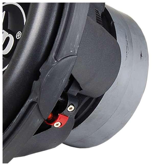 "TXX-BDC2-15-U-B AudioPipe High Power 1800W 15"" 4 Ohm DVC Car Audio Subwoofer, Black (Used) 1"