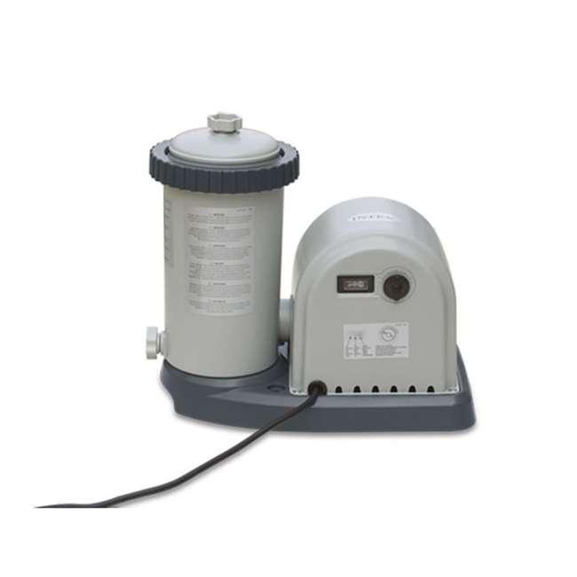 635T Intex 1500 Gph Krystal Clear Cartridge Filter Pump 110-120V w/ GFCI (Pump Only) 2