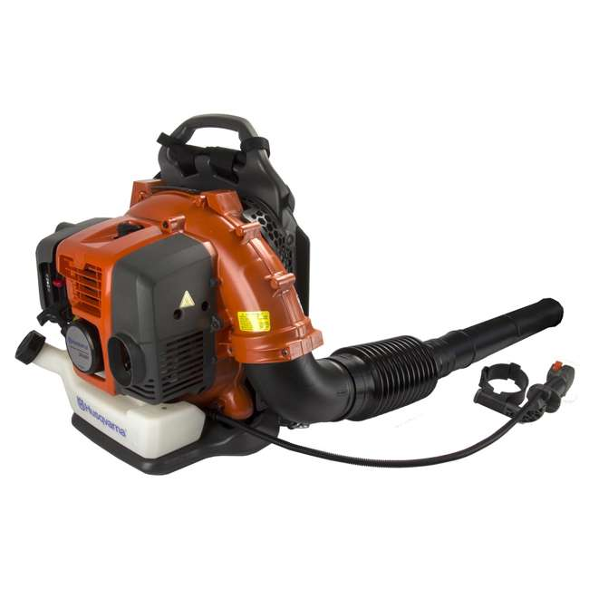 HV-BL-965877502-U-C Husqvarna 50cc 2 Cycle Gas Powered Leaf Grass Backpack Blower 180 Mph(For Parts) 5