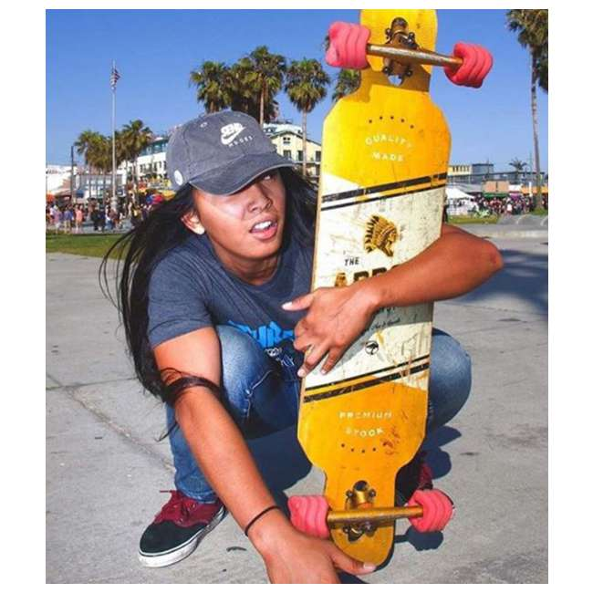 1001S60MMS78AR-OB Shark Wheel California Roll 60mm 78A Skateboard Wheels, Red(Open Box) 1