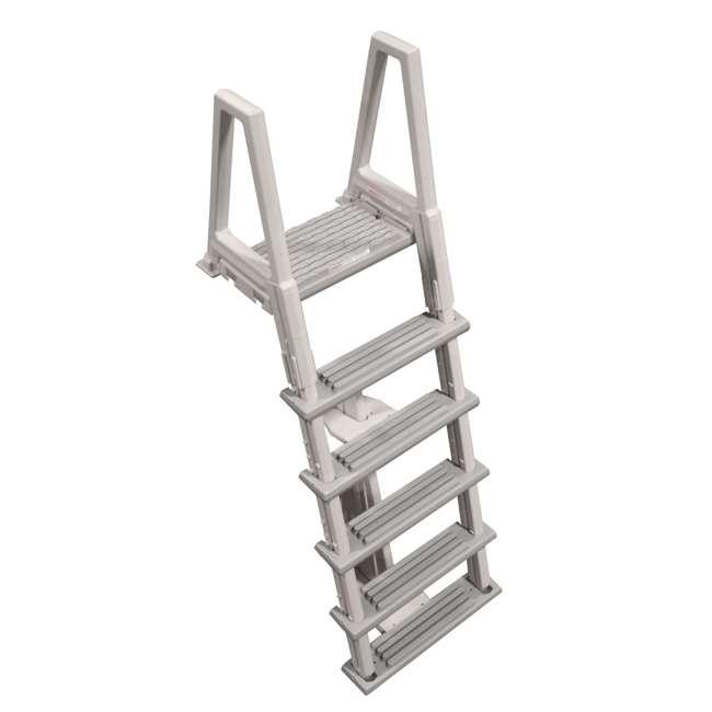 6000X-U-A Confer 46-56 Inch Swimming Pool Ladder (Open Box) (2 Pack)