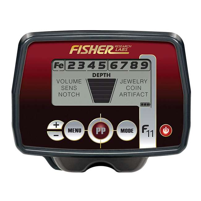 F11 Fisher Research Labs F11 All-Purpose Metal Detector 1