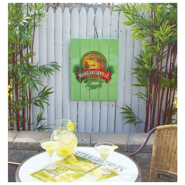 4 x RIOPSSR120-MV Margaritaville Outdoor Tequila Beach Sign, Green (4 Pack) 2