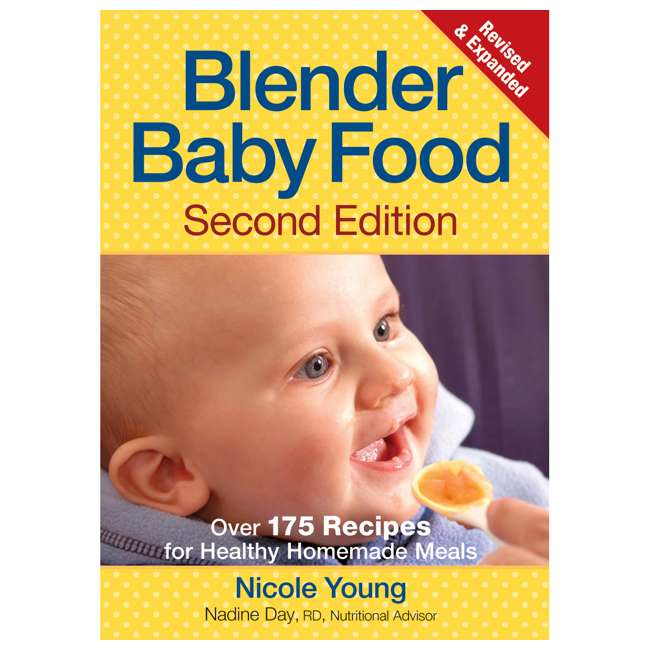 56206 + BABYFOODBLEND Hamilton Beach Wave Action Powerful Smoothie Blender and Baby Food Cookbook 6
