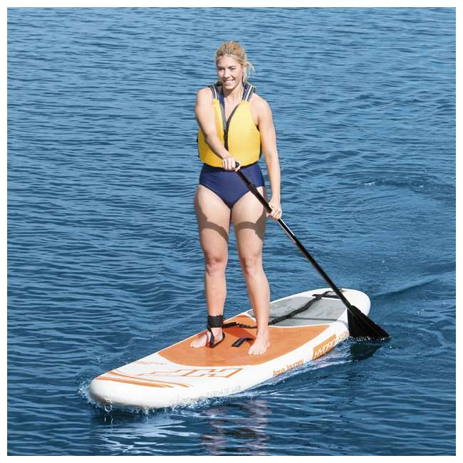 "65307E-BW-U-A Bestway Hydro Force Fiberglass 85"" Stand Up Paddle Board Oar (Open Box) (2 Pack) 4"