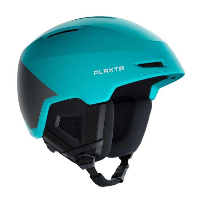 FX901103172SM Flaxta Exalted Protective Ski and Snowboard Full Helmet Small/Medium Size, Aqua 1