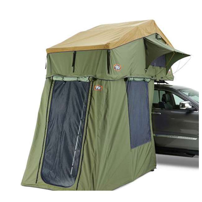 01ASK051601 + MTX02BK Tepui Explorer Autana 3 Person Car Camp Roof Top Tent & Vehicle Recovery Device 4