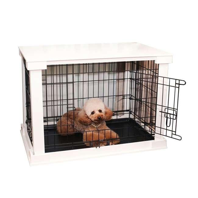 PTH0251720100 Zoovilla Decorative Dog Cat Cage Crate, White 4