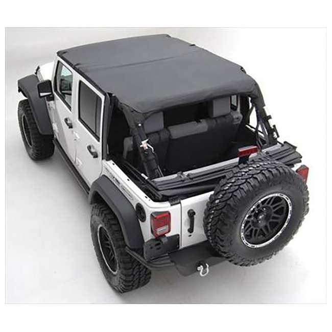 94635-SMITTYBILT Smittybilt Extended Brief Top for Jeep Wrangler JK 3