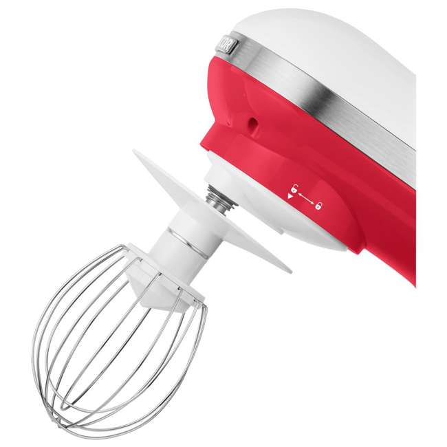 STM3624RD-NAA1 Sencor STM 3624RD 4.2 Quart 6 Speed Food Mixer with Stainless Steel Bowl, Red 4