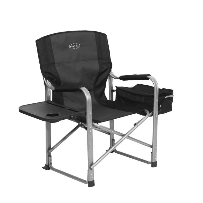 CC119 Kamp-Rite Director's Chair with Table, Cooler, and Bottle Opener 2