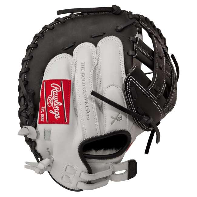 RLACM33-3/0 Rawlings Liberty Advanced 33-Inch Catcher Mitt Adult Softball Glove 2