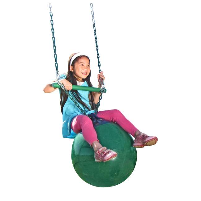 AN968-104 Creative Playthings AN968-104 Kids Playground Swing Set Buoy Ball Swing w/ Chain 2