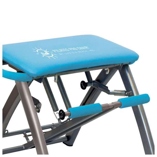 Pilates Chair Dvds Lifes Beach: Life's A Beach Blue Pilates Pro Chair And DVDs : LAB01012