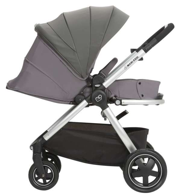 TR362CTF Maxi-Cosi Adorra Stroller and Car Seat Travel System, Loyal Gray 4